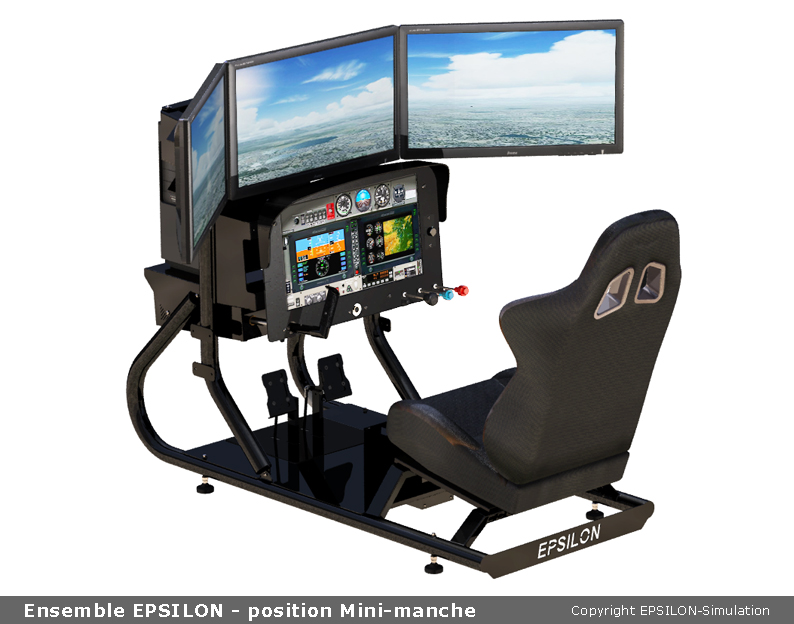 Ch flight sim yoke
